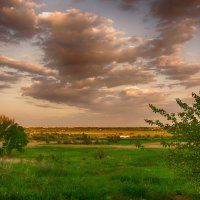 Закат над Новомосковском(2) :: Ксения Довгопол