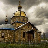 """п.Хамышки. Храм в горах. :: """"Наиль Батталов"""