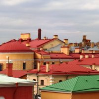 Питерские крыши. :: Марина Харченкова