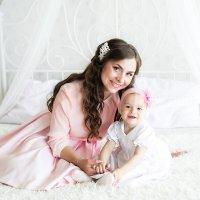 Мама и дочка-два ангеочка :: Marusya Горькова