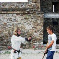 урок борьбы на мечах :: НаталиЯ ***