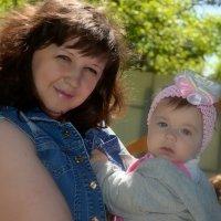 мама с доченькой) :: Дарья Левина