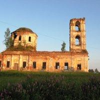 церковь п. Салми :: Геннадий Рублёв
