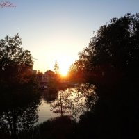 Солнце на закате :: °•●Елена●•° Аникина♀
