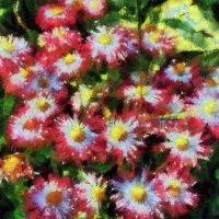 """Мои эксперименты: """"Городские цветы"""" ( П.Сезан) :: Владимир Бровко"""