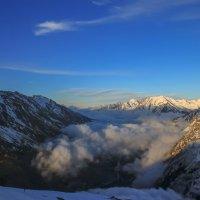 Баксанская долина на закате 1430 :: Олег Петрушин