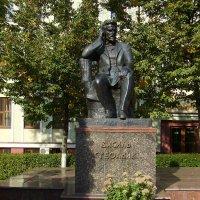 Памятник  Василию  Стефанику  в  Ивано - Франковске :: Андрей  Васильевич Коляскин