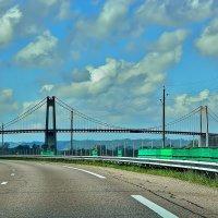 Мост Нормандия (Pont de Normandie) :: Александр Корчемный