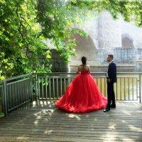 Красное платье. :: Natali Lubich