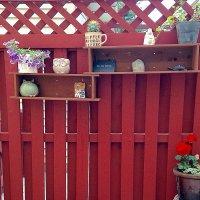 Украшаем дачный забор... :: Елена
