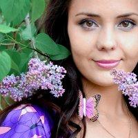 В сирени и бабочках :: Юлия