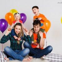 Веселая семейка)) :: Анна Филипулова