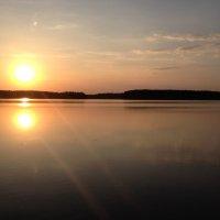 Лесное озеро :: Денис Бурейко