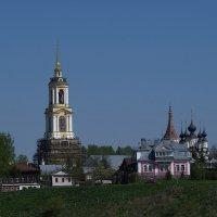 колокольня Ризоположенского монастыря :: Сергей Цветков