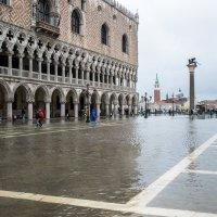Венеция высокая вода 2014  Città di Venezia - Acqua alta a Venezia :: Олег