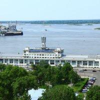 Вид с набережной Федоровского :: Владимир Андреевич Ульянов