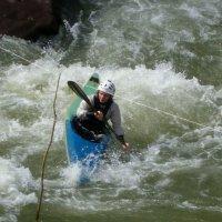 Тренировка на горной реке :: Юлия Бабитко