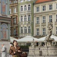 На рыночной площади в Познани пахнет средневековьем :: Елена Смолова