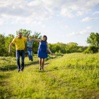Мама, папа и я :: Виктория Гавриленко