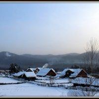 Зима.Восход. :: Любовь Иванова