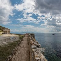 Греция. Корфу.Керкира.(Столица острова) Старая крепость. :: юрий макаров