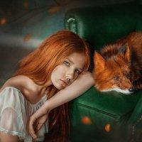 Девочка с лисой :: Михайлова Ирина