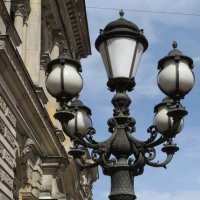 Старый фонарь :: Вера Щукина
