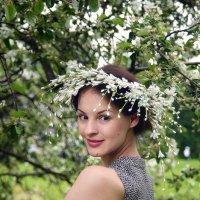 Юлия в сирени :: Елена Княжева