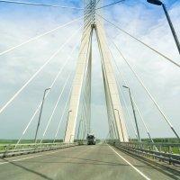 Новый мост через Оку.Такая МОЩЬ..!. :: Алла Кочергина