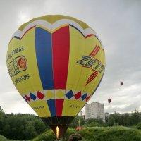 Великие Луки, аэростаты... :: Владимир Павлов
