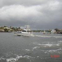 Непогода у берегов Флориды. :: Владимир Смольников