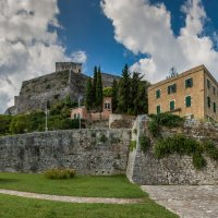 Греция. Корфу.Керкира.(Столица острова) новая крепость. :: юрий макаров