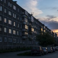 evening city :: Dmitry Ozersky
