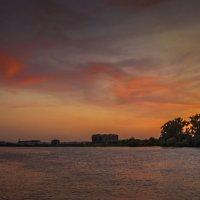 Меланжевый закат :: Варвара