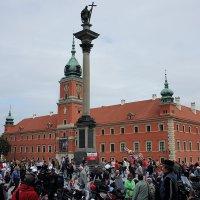Замковая площадь. Инсталляция варшавского восстания с 1 августа по 2 октября 1944 :: Елена Павлова (Смолова)