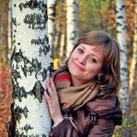 в березовом лесу :: Дарья Шевцова