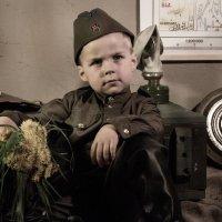 Устал солдат. :: Anna Dontsova