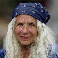 БАНДАНА-из серии золотой возраст-бабушки бабульки... :: Shmual Hava Retro