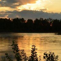 закат на озере :: Анна t04ka