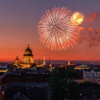 Салют на закате :: Владимир Колесников