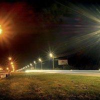 Ночная прогулка. :: Андрей Чиченин