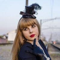 Дама в шляпке :: Марина