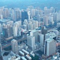 Шэньчжэнь с небоскреба Diwangdasha :: Алексей Быков