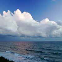 Облака над морем :: Allex Anapa