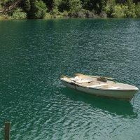 Лодка в самостоятельном плавании :: Екатерина Шамелова