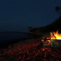 ночная рыбалка :: Андрей Бедняков