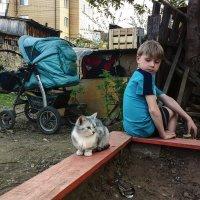 Детство. Мальчик с окраины. :: Валерий Молоток