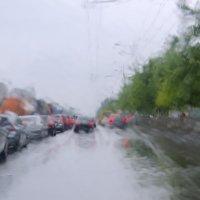 сквозь пелену дождя... :: Ксения Довгопол