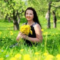 Весна и солнце одуванчиков. :: Татьяна Бравая