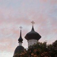 Великие Луки. Вознесенский собор. Вечер розовый... :: Владимир Павлов